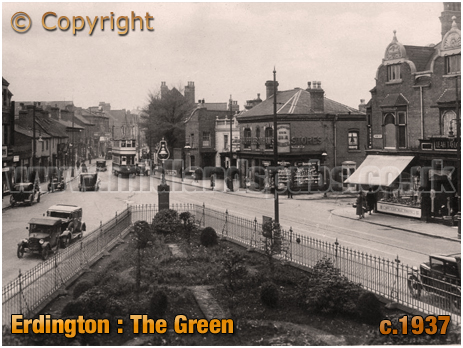 Birmingham : The Green at Erdington [1937]