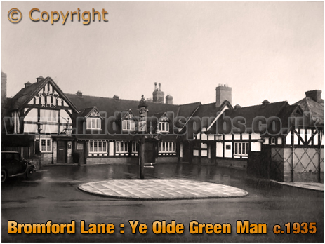 Birmingham : Ye Olde Green Man at Bromford Lane in Erdington [c.1935]