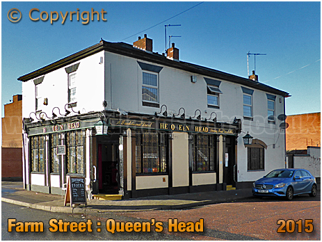 Birmingham : The Queen's Head on the corner of Farm Street and Hunter's Vale in Hockley [2015]