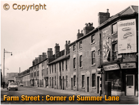 Junction of Farm Street and Summer Lane [c.1970s]