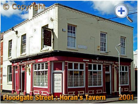 Birmingham : Horan's Tavern on the corner of Floodgate Street and Little Ann Street in Digbeth [2001]