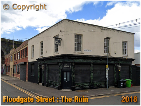 Birmingham : The Ruin on Floodgate Street in Digbeth [2018]