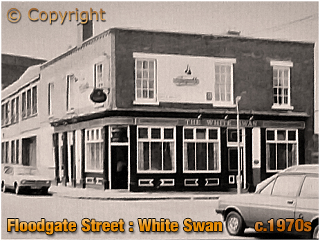 Birmingham : The White Swan on Floodgate Street in Digbeth [c.1970s]