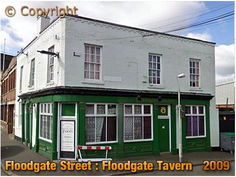 Birmingham : The Floodgate Tavern on Floodgate Street in Digbeth [2009]