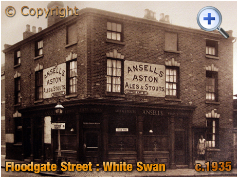 Birmingham : White Swan on the corner of Floodgate Street and Little Ann Street in Digbeth [c.1935]