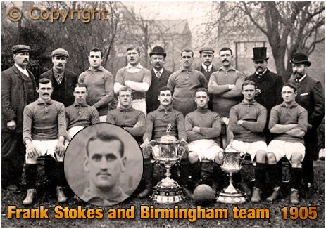 Frank Stokes and the Birmingham football team [1905]