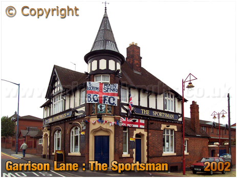 Birmingham : The Sportsman on the corner of Garrison Lane and Gray Street [2002]