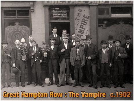 The Vampire Tavern on Great Hampton Row at Hockley in Birmingham [c.1902]