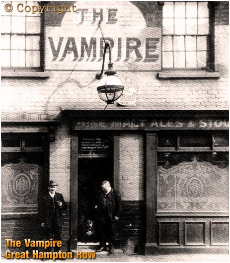 The Vampire on Great Hampton Row at Hockley in Birmingham [c.1910]
