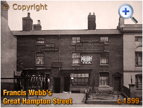Birmingham : Businesses and Shopping on Great Hampton Street at Hockley [c.1899]