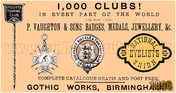 Birmingham : Advertisement for the Gothic Works on Great Hampton Street at Hockley [1896]