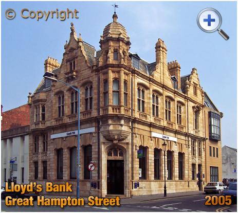 Birmingham : Lloyd's Bank on the corner of Great Hampton Street and Harford Street at Hockley [2005]