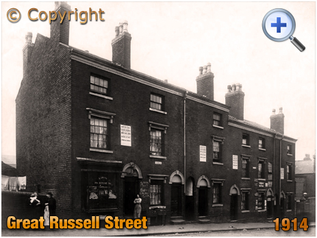 Birmingham : Auction of houses on Great Russell Street [1914]