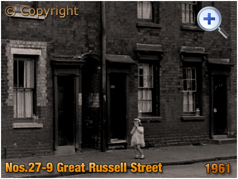 Birmingham : Nos.27-9 Great Russell Street at Hockley [1961]