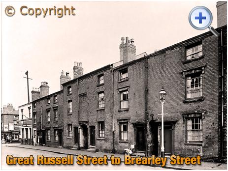 Birmingham : East Side of Great Russell Street between Tower Street and Brearley Street at Hockley [1961]