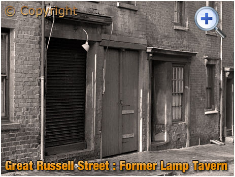 Birmingham : Site of Lamp Tavern on Great Russell Street at Hockley [1960]
