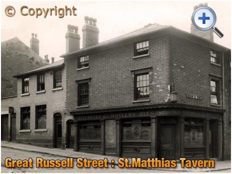 Birmingham : St. Matthias' Tavern during World War 2 [1942]