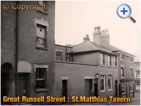 Birmingham : Extension to the St. Matthias' Tavern at Hockley [1965]