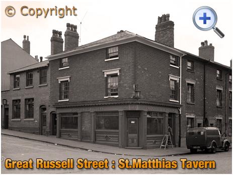Birmingham : St. Matthias' Tavern at Hockley [1961]