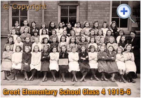 Birmingham : Greet Elementary School Class 4 Girls [1915-6]