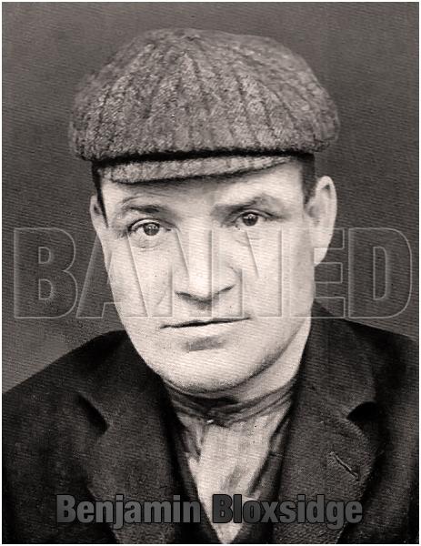 Benjamin Bloxsidge : Habitual Drunkard of Birmingham