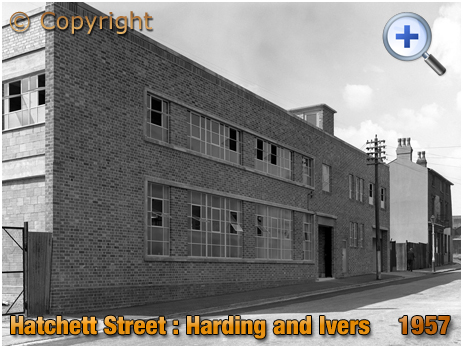 Birmingham : Factory of Harding and Ivers in Hatchett Street at Aston New Town [1957]
