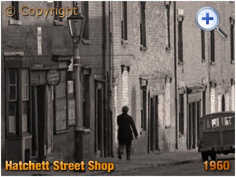 Birmingham : Shop on Hatchett Street at Aston New Town [1960]