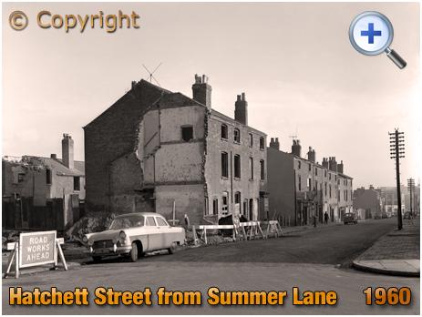 Birmingham : Hatchett Street from Summer Lane at Aston New Town [1960]