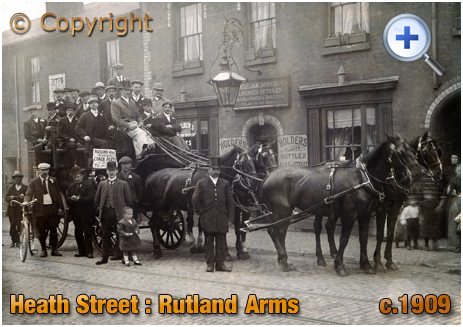 Birmingham : The Rutland Arms on Heath Street at Winson Green [c.1909]