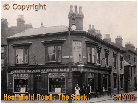 Birmingham : The Stork on Heathfield Road at Handsworth [c.1906]