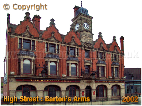 Birmingham : The Barton's Arms at High Street Aston [October 2002]
