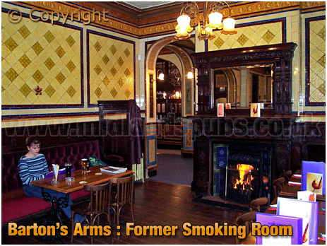 Birmingham : Former Smoking Room of the Barton's Arms at High Street Aston [2003]