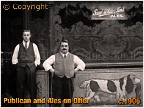 Birmingham : Publican of the Dog & Duck on High Street Aston [c.1906]