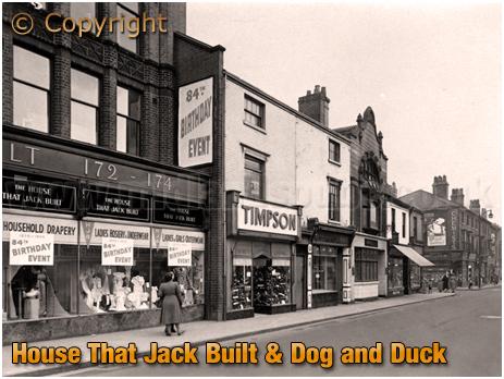 Birmingham : The House That Jack Built at High Street Aston [1950s]