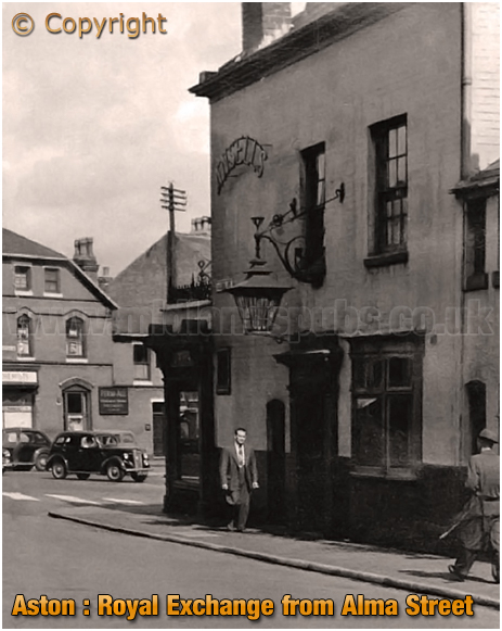 Birmingham : The Royal Exchange at No.1 High Street Aston [1960]