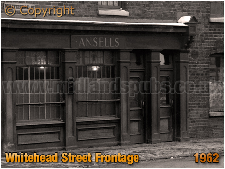 Birmingham : Whitehead Street Frontage to the Scotch House on High Street Aston [1962]