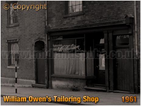 Birmingham : Tailor's Shop of William Henry Owen on High Street Aston [1961]