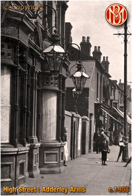 Birmingham : Adderley Arms on High Street Saltley [c.1908]