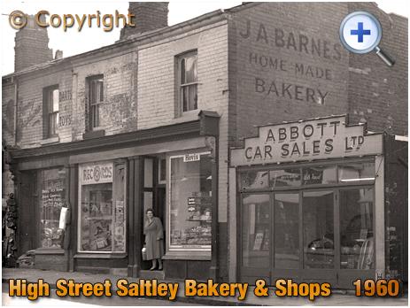 Birmingham : Bakery and Shop of Joseph A. Barnes on High Street Saltley [1960]