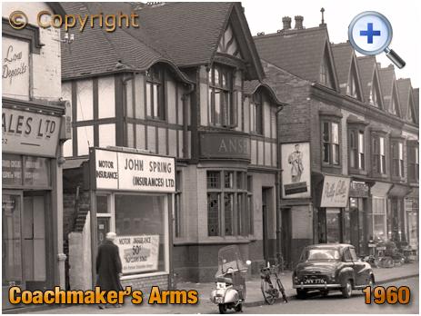 Birmingham : The Coachmakers' Arms on High Street Saltley [1960]