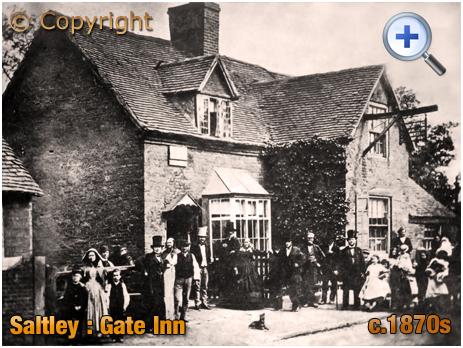 Birmingham : The Gate Inn at Saltley [c.1880]