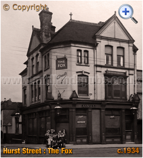 Birmingham : The Fox on Hurst Street [c.1934]