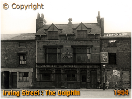 Birmingham : The Dolphin Inn on Irving Street at Lee Bank [1954]