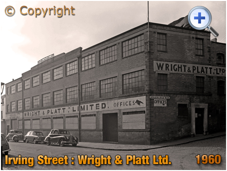 Birmingham : Factory of Wright and Platt Limited in Irving Street at Lee Bank [1960]