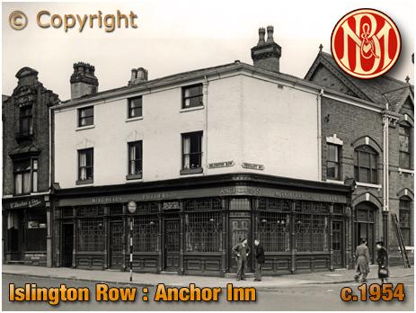 Birmingham : Anchor Inn on Islington Row in Edgbaston [c.1954]