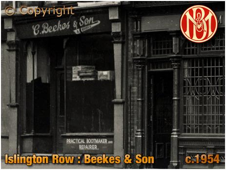 Birmingham : Shop adjacent to the Anchor Inn on the corner of Islington Row and Tennant Street at Edgbaston [c.1954]