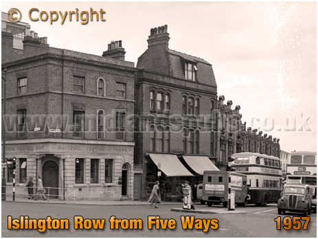 Birmingham : Islington Row from Five Ways at Edgbaston [1957]
