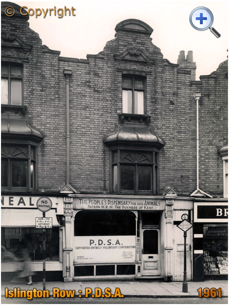 Birmingham : P.D.S.A. on Islington Row near Five Ways at Edgbaston [1957]