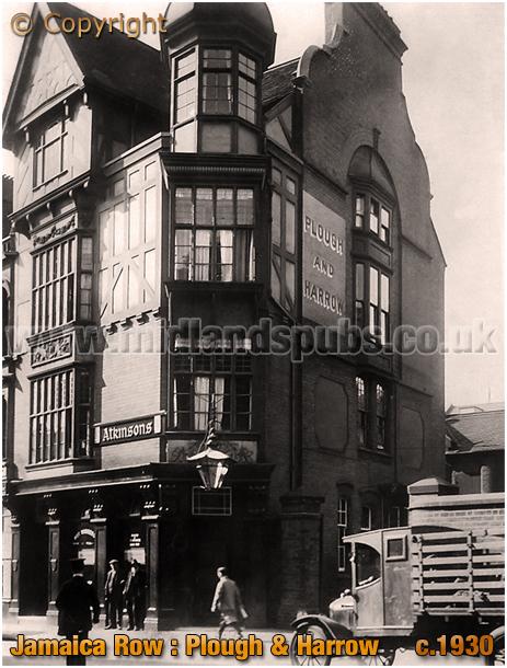 Birmingham : The Plough and Harrow on Jamaica Row [c.1930]
