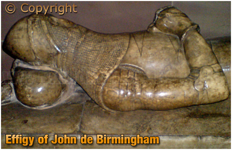 Effigy of John de Birmingham in St Martin's Church [2009]